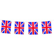 12 ft length Union Jack Bunting