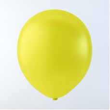 "Balloons 10"" Pastel Yellow - pack 100"