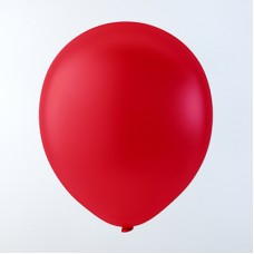"""Balloons 12"""" Pastel Red - pack 100"""