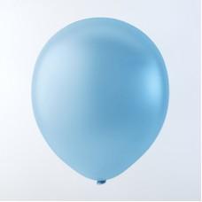 """Balloons 12"""" Pastel Light Blue - pack 100"""
