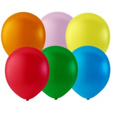 "Balloons 10"" Pastel Rainbow Pride Colour Mix - pack 600"