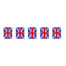Bunting Union Jack Flag  Indoor / Outdoor pvc 10m  - pack 1